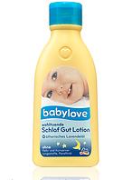 Успокаивающий лосьон с лавандой Babylove Schlaf Gut Lotion 250 ml.