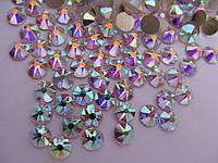 Стразы клеевые ss16 Crystal AB Premium, 16 граней, 1440шт. (3.8-4.0мм)