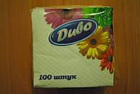 Бумажная салфетка Диво 24х24 100 штук