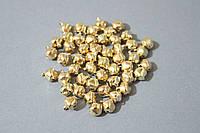 Бубенчики новогодние цвета красное золото 50 шт/уп. 1 х 1 см