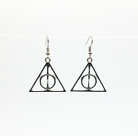 Серёжки Гарри Поттер арт. 0003 -1