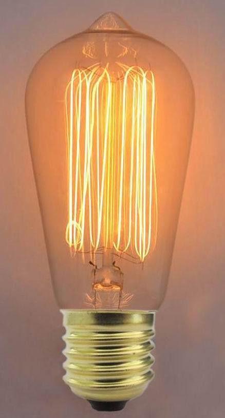 Лампа Эдисона ST 64