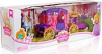 Карета с куклой и лошадью SS009A