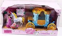Карета с лошадью и куклой SS015A
