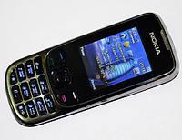 Кнопочный мобильный телефон Nokia 6303 копия 2 сим FM Bluetooth металлический корпус
