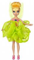 Кукла 'Фея Диснея' - Динь-Динь (23см) для ванны, с лаймовой мочалкой Disney Fairies Подробнее в интернет-магаз