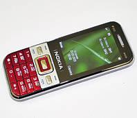 Кнопочный мобильный телефон Nokia W259 копия 2 сим FM Bluetooth