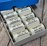 Нитки швейные 40/2, 1000 ярдов, цвет кремовый (№110107), фото 2