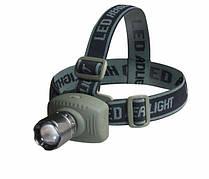 Налобный светодиодный фонарь zoom