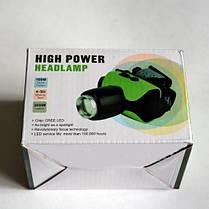 Налобный светодиодный фонарь High Power Cree ZOOM - 06.