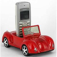 Подставка для телефона Машинка с часами