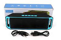Портативная колонка Music Box SC-208 Bluetooth Синяя