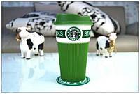 Чашка керамическая  Starbucks  Еco Life Green