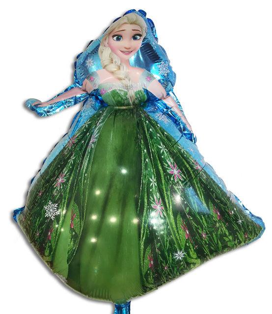 Фольгированный шар Принцесса Эльза 80х54см
