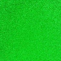 Фетр с блестками 1.6 мм, Корея, ЗЕЛЕНЫЙ, 15.5х23 см