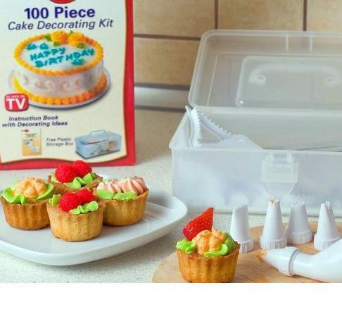 Набор для украшения торта 100 Piece Cake Decoration Kit (декорация тортов) - Интернет магазин Левиспорт в Киеве