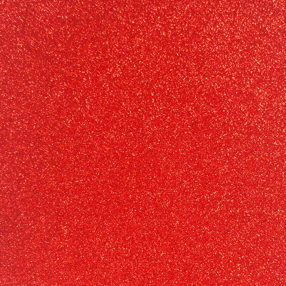 Фетр с блестками 1.6 мм, Корея, КРАСНЫЙ, 5.7х15.5 см