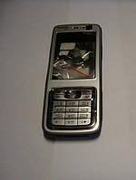 Корпус с копками Nokia N73 silver Н/С