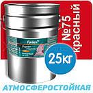 Фарбекс Farbex Фарба Емаль ПФ-115 Червона №75 0,9 кг, фото 3