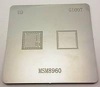 BGA трафарет MSM8960