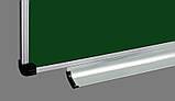 Доска комбинированная для мела и маркера 300x100 см ABC Office в алюминиевой рамке, трехсекционная, фото 4