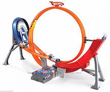 Хот Вилс Безумный форсаж + 5 машинок / Hot Wheels Power Shift Loop & Jump