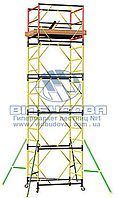 Вышка модульная металлическая ПСРВМ 1,6x0,8м (1+4) VST170841L
