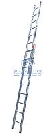 Лестница двухсекционная алюминиевая бытовая KRAUSE Original Fabilo 2x9 ступеней (120540)