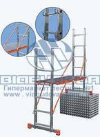 Помост алюминиевый лестничный KRAUSE Original Vario Top 2x6 ступеней (121370)