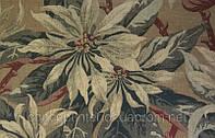 Натуральная портьерная ткань  для современного интерьера с набивным рисунком Sutbury