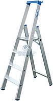 Стремянка алюминиевая промышленная KRAUSE Stabilo 4 ступени (124517)