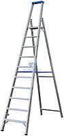Стремянка алюминиевая промышленная KRAUSE Stabilo 12 ступеней (124579)