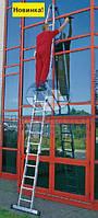 Лестница для мытья стекол KRAUSE Original 18 ступеней (802187)