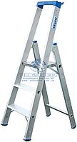 Стремянка алюминиевая промышленная KRAUSE Stabilo 3 ступени (124500)