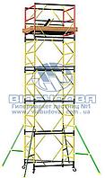Вышка модульная металлическая ПСРВМ 1,6x0,8м (1+2) VST170821L