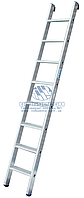 Лестница односекционная алюминиевая промышленная KRAUSE Stabilo 8 ступеней (124425)