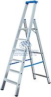 Стремянка алюминиевая промышленная KRAUSE Stabilo 6 ступеней (124531)