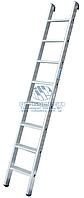Лестница односекционная алюминиевая промышленная KRAUSE Stabilo 15 ступеней (124456)