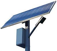 Автономный уличный фонарь 30 Вт. с солнечной батареей