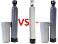 Система Ecomix Ecosoft VS Фильтр обезжелезиватель и Фильтр умягчитель воды