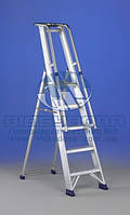 Стремянка алюминиевая промышленная SVELT REGINA SPECIAL 7 ступеней (115166)