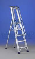 Стремянка алюминиевая промышленная SVELT REGINA SPECIAL 5 ступеней (115164)