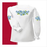 Заготовка сорочки-вышиванки для девочки (размер 26-28)