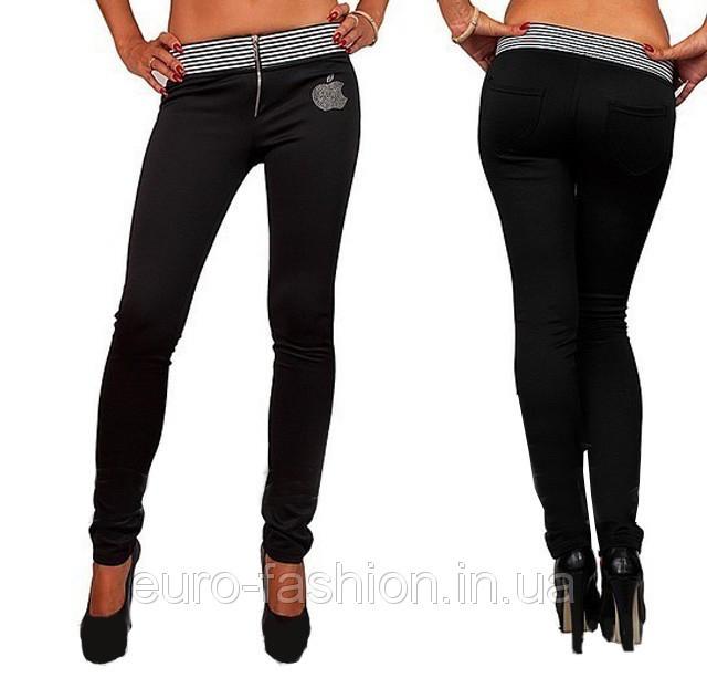 Утепленные брюки женские на флисе
