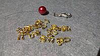 Протектор золото для лески, проволоки, тросика