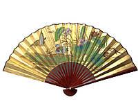 Золотистый веер бамбуковый