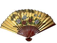 Веер бамбуковый шелковый