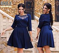 Платье женское с камнями № 783  Гл