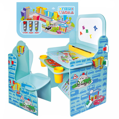 Детские парты-трансформеры, столы, стулья