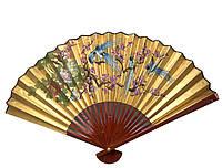 Бамбуковый веер настенный